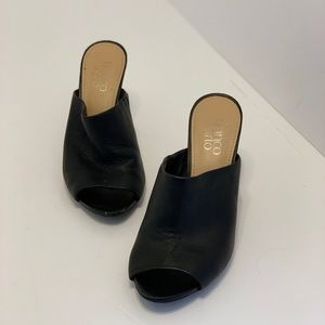 Franco Sarto — Black Leather Heels (7)